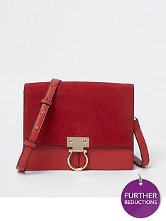 river-island-suede-crossbody-bag--red