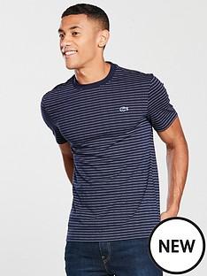 0d6f582b4d30 Lacoste Sportswear Dot Stripe T-Shirt