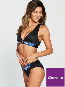 5808df60a8869 Calvin Klein Calvin Klein Blue Stripe Unlined Bralette