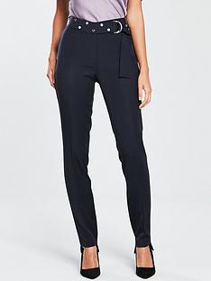 v-by-very-studded-belted-cigarette-trouser-navy