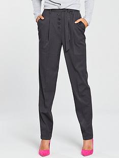 v-by-very-fly-front-slim-leg-trouser-grey