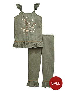 v-by-very-girls-rise-and-shine-frill-pyjama-set