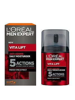 L'Oreal Paris   Men Expert Vita Lift 5 Anti Ageing Moisturiser 50Ml