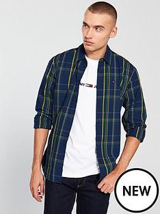 tommy-jeans-ttommy-jeans-indigo-check-shirt