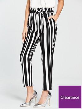 miss-selfridge-stripe-paperbag-trouser