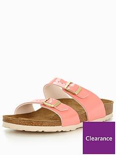 birkenstock-sydney-narrow-two-strap-slide-sandal-cream-coral