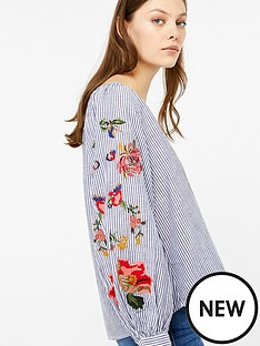monsoon-anya-embroidered-stripe-blouse
