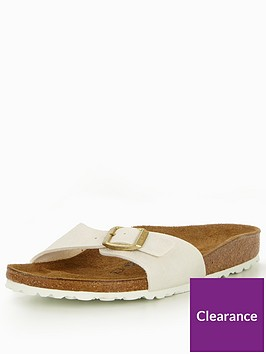 0a58ffbaa270 Birkenstock Madrid Narrow One Strap Sandal - Off White
