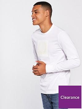 fred-perry-mens-tonal-laurel-wreath-t-shirt-white