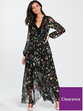 v-by-very-lace-trim-printed-maxi-dress-printed