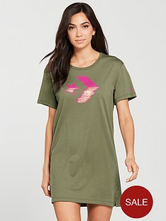 converse-metallic-chevron-tee-dress-khakinbsp
