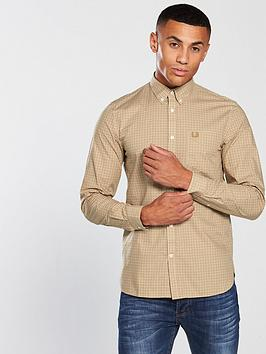 fred-perry-three-colour-gingham-shirt