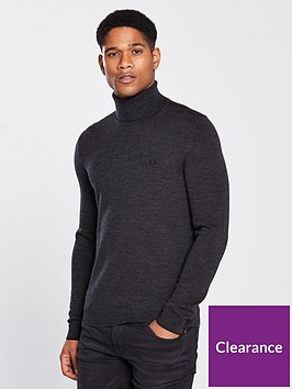 fred-perry-fred-perry-classic-merino-roll-neck-jumper
