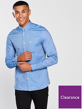fred-perry-mens-classic-long-sleeve-oxford-shirt-mid-blue