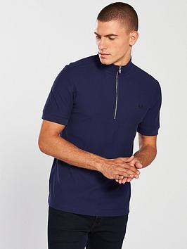 fred-perry-funnel-neck-polo-shirt