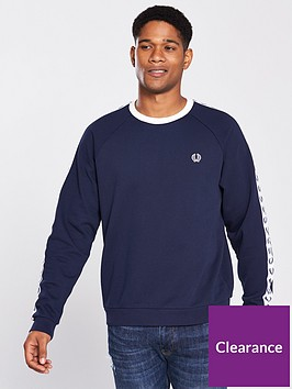 fred-perry-taped-crew-neck-sweatshirt