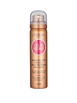 L'Oreal Paris L'Oreal Paris Sublime Bronze Self Tan Express Mist  ... Picture