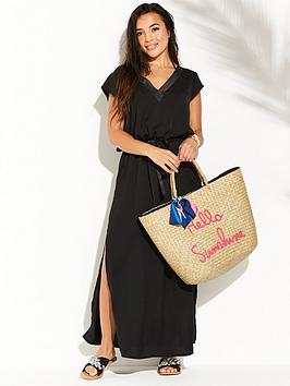 pour-moi-jet-set-long-dress-black