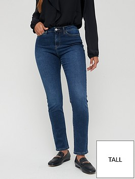 v-by-very-tall-isabelle-high-rise-slim-leg-jean-dark-wash