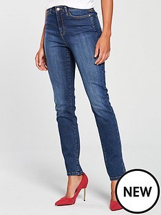 v-by-very-valuenbspisabelle-high-rise-slim-leg-jean-mid-wash