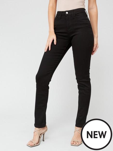 v-by-very-valuenbspisabelle-high-rise-slim-leg-jeans-black