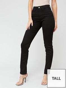 v-by-very-valuenbsptall-isabelle-high-rise-slim-leg-jean-black