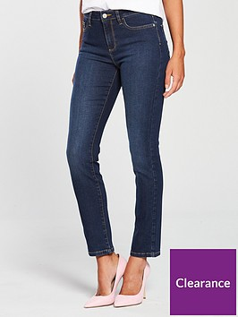 v-by-very-short-ashton-mid-rise-slim-leg-jeans-dark-wash