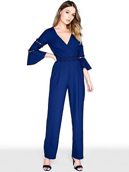 little-mistress-crochet-trim-jumpsuit-navy