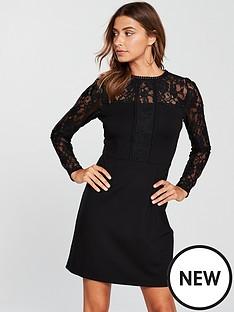 v-by-very-lace-sleeve-ponte-pencil-dress