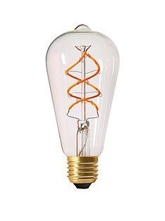 girard-sudron-5w-e27-teardrop-led-twisted-filament-screw-cap-bulb