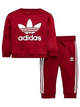 adidas-originals-adidas-originals-baby-boys-trefoil-crew-suit