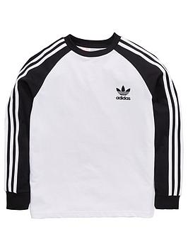 adidas-originals-boys-long-sleeve-california-tee-whiteblack