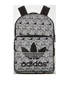 adidas-originals-girls-zebra-backpack-brownnbsp