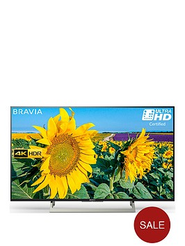 sony-bravianbspkd49xf8096-49-inch-4k-hdr-ultra-hd-smart-android-tvtrade-with-youview-freeview-hd-and-google-assistant-built-innbsp--black