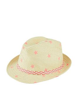 accessorize-girls-star-print-trilby-hat-pink