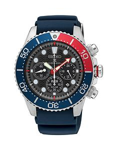 seiko-black-multi-dial-with-red-and-blue-detail-bezel-and-blue-silicone-strap-mens-watch