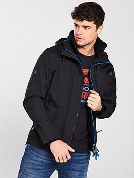 Superdry Superdry Zip Front Windcheater Jacket - Black Picture