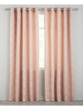 Very Delta Jacquard Eyelet Curtains Picture