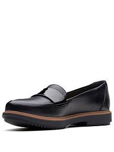 clarks-raisie-arlie-loafer-black