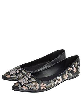 accessorize-embroidered-flower-point-ballerina-black