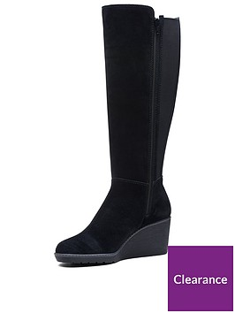 clarks-clarks-hazen-madison-wedge-knee-high-boot-black-suded