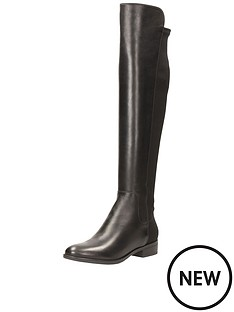 clarks-caddy-belle-over-the-knee-boot-black