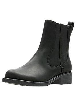 clarks-orinoco-club-chelsea-ankle-boot-black