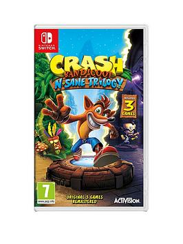 Nintendo Switch   Crash Bandicoot N'Sane Trilogy - Switch