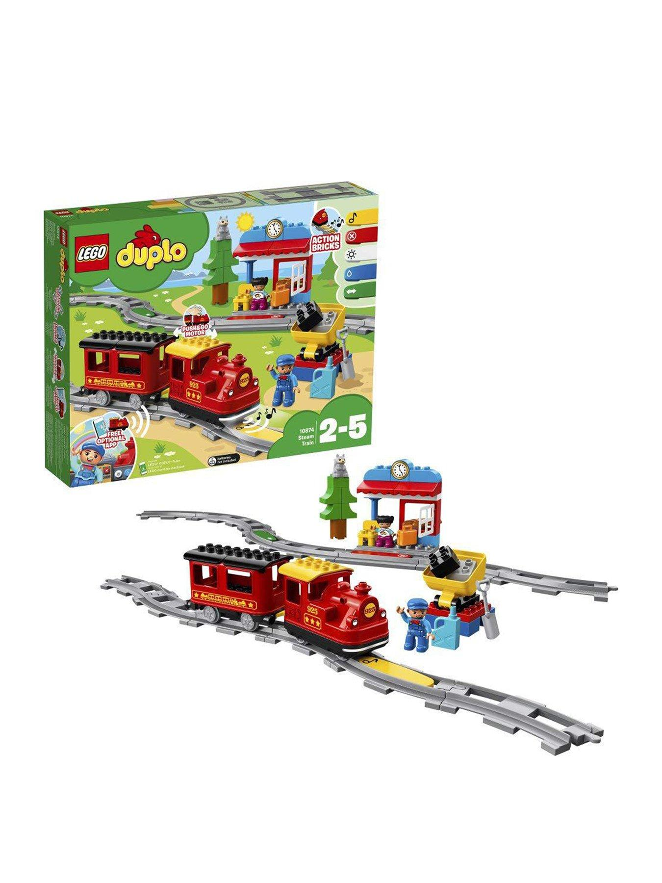 Lego Duplo Train Engineer/'s Cab Red//Yellow