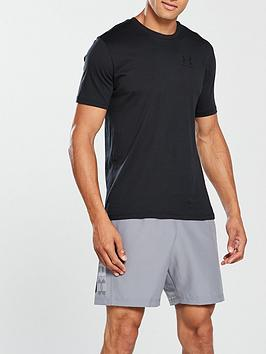 Under Armour Under Armour Sportstyle Left Chest Logo T-Shirt - Black Picture
