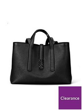 boss-veronika-leather-black-tote-bag