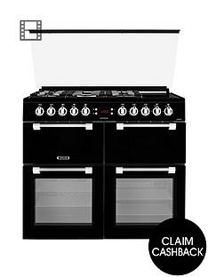 leisure-cc100f521k-100cm-chefmaster-dual-fuel-range-cookernbspwith-optional-connection