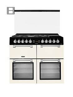 leisure-cc100f521c-100cm-chefmaster-dual-fuel-range-cookernbspwith-optional-connection-cream