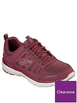 skechers-lace-up-flex-appeal-30-trainers-red